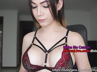 Colombian Cute Order About Shemale Stripling Follow Atop Webcam, Decoration 3